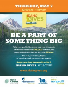 Jannus to Participate in Idaho Gives 2015