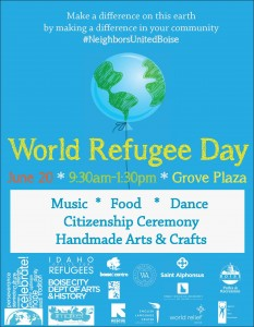 Join Us Saturday for World Refugee Day!