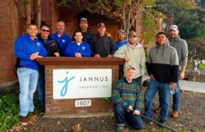 The International Window Cleaning Association (IWCA) gave Jannus the gift of clean windows this week!